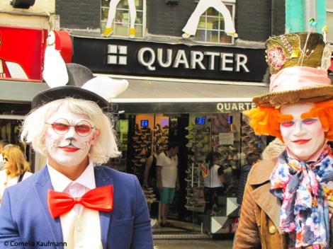 Mad Hatter's (Street) Tea Party in Camden. Copyright Cornelia Kaufmann