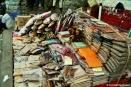 Spice stall at Stone Town's Darajani Market. Copyright Cornelia Kaufmann