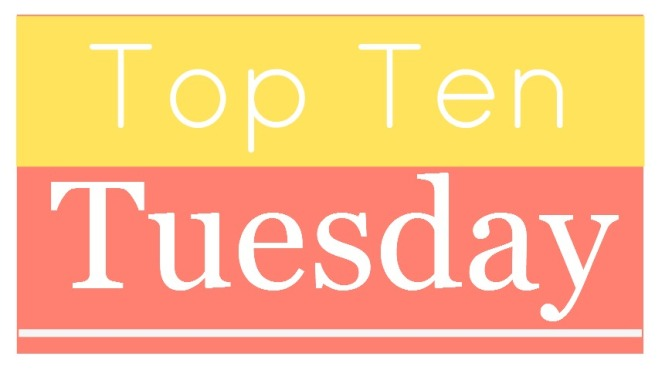 Top Ten Tuesday: Top 10 Books I've Read So Far In 2015