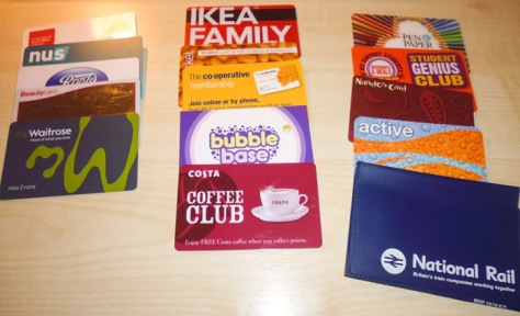 UK discount cards.
