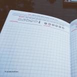 Hobonichi-style daily planner I designed myself