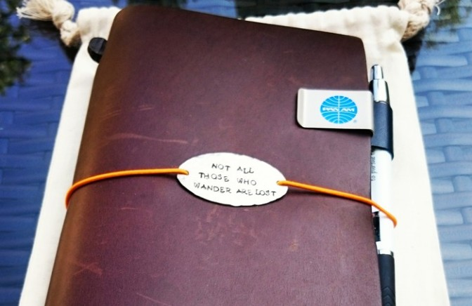 How to: set up your Midori Traveler's Notebook