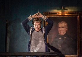 Hamlet's (Benedict Cumberbatch) madness. Credit: Johan Persson/