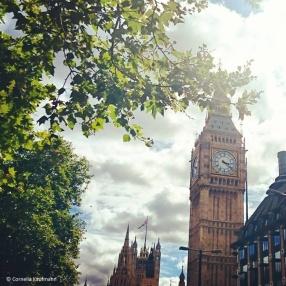 Big Ben seen from Westminster Pier © Cornelia Kaufmann