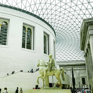The Great Court and Reading Room of the British Museum © Cornelia Kaufmann