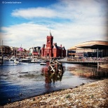 Cardiff Bay seen from the Old Norwegian Church, © Cornelia Kaufmann