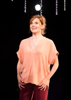 Louise Brealey as Marianne in Constellations. © Helen Maybanks