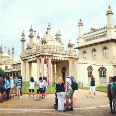 The Royal Pavilion in Brighton © Cornelia Kaufmann