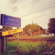 Having breakfast in the small town of America, just past Venlo in The Netherlands. © Cornelia Kaufmann