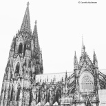 Cologne Cathedral seen fom outside the Roman-Germanic Museum. © Cornelia Kaufmann