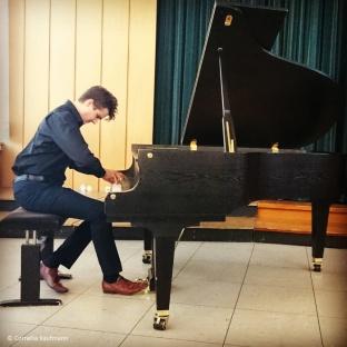 Hungarian pianist Elöd Ambrusz in concert © Cornelia Kaufmann