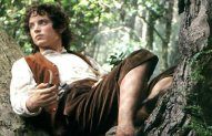 Elijah Wood as Frodo in Lord of the Rings: The Fellowship of the Ring