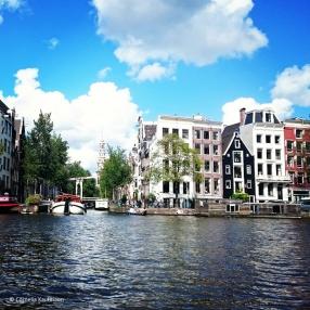 On a Gracht cruise in Amsterdam. © Cornelia Kaufmann