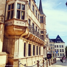 The Grand-Ducal palais in Luxembourg City. © Cornelia Kaufmann