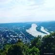 The river Rhein, Bad Honnef, and the Siebengebirge (Seven Hills) seen from the summit of the Drachenfels. © Cornelia Kaufmann