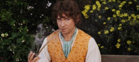 Martin Freeman as young Bilbo Baggins in The Hobbit: An Unexpected Journey