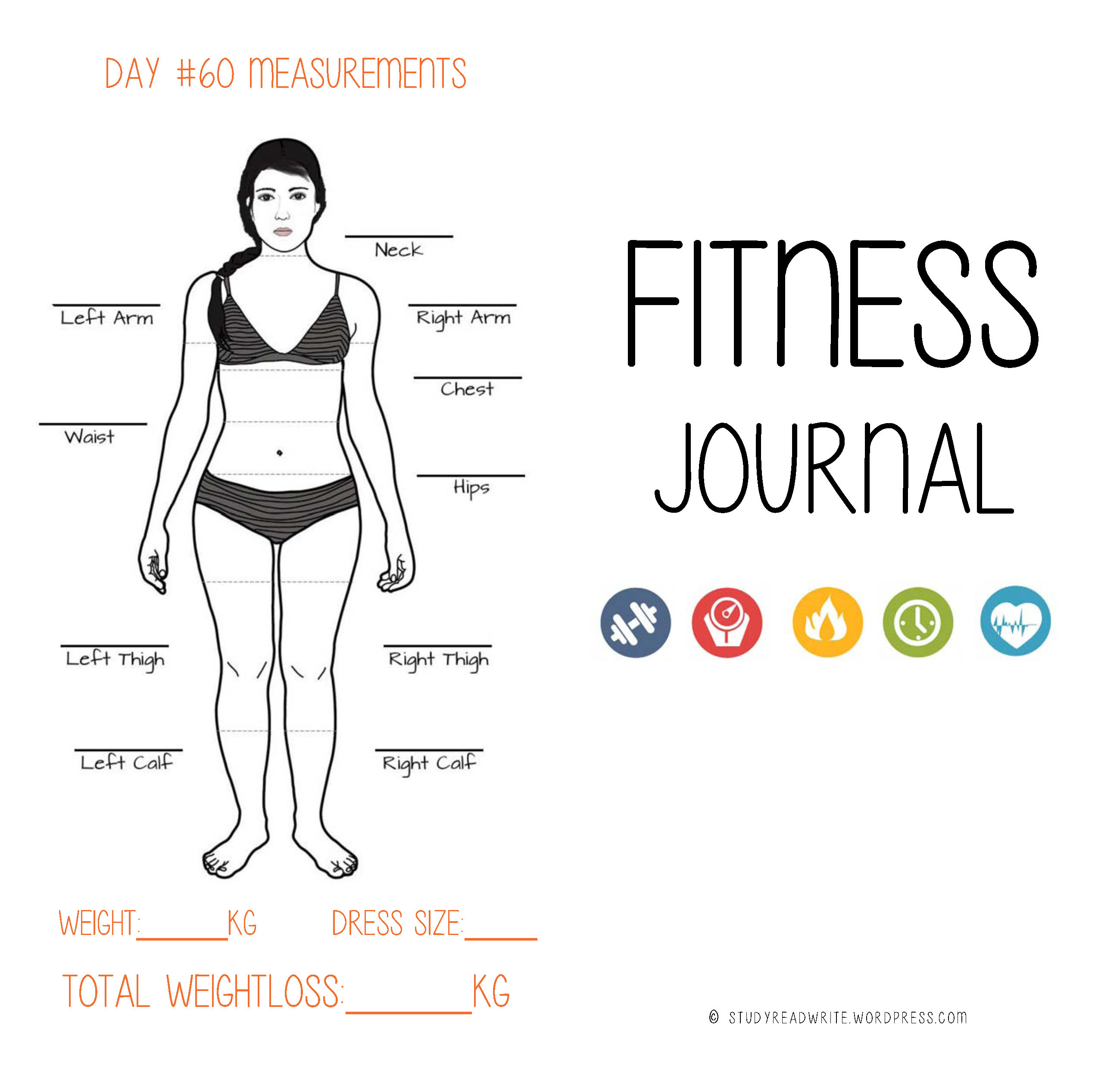 How to Write a Fitness Journal images