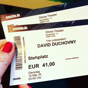 Duchovny Tickets