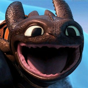 Happy Toothless